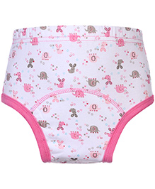 Mee Mee Cloth Diaper Pant Large - Rabbit Embroidery