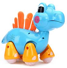 Mitashi Skykidz Jungle Rumble Dino - Light Blue