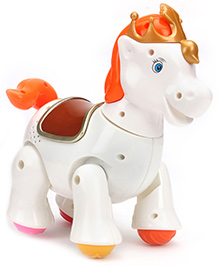 Mitashi Skykidz Jungle Rumble Horse - White