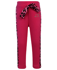 Little Kangaroos Legging With Bow Knot - Pink
