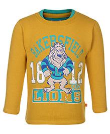 Little Kangaroos Full Sleeve Sweat T-Shirt - Bakersfield Print