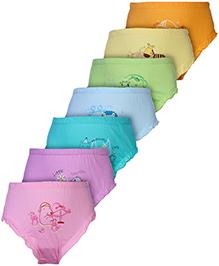 Simply Panties Multicolor - Set Of 7
