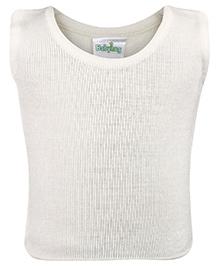 Babyhug Sleeveless Sweater - Off White