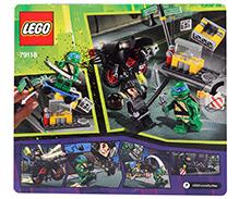 Lego Teenage Mutant Ninja Turtles- Karai Bike Escape