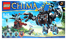 Lego Legends of Chima - Gorzan's Gorilla Striker