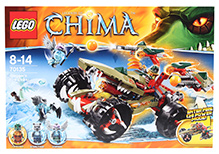 Lego Legends of Chima - Cragger's Fire Striker