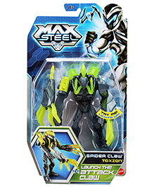 Max Steel Spider Claw Toxzon Launch The Attack Claw - Green