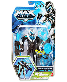 Max Steel Rip Launch Turbo Blades - Height 16 cm