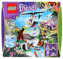Lego Friends Jungle Bridge Rescue Set