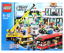Lego City - Town Square Playset