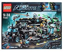 Lego Ultra Agents Mission HQ - Ultra Agents VS Terabyte