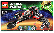 Lego Star Wars - Jek-14's Stealth Starfighter