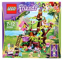 Lego Friends Jungle Tree Sanctuary Set