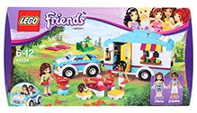 Lego Summer Caravan Friends