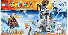 Lego Chima Sir Fangars Ice Fortress