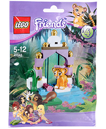Lego Tiger's Beautiful Temple