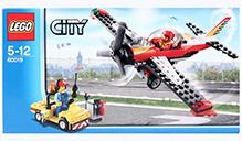 Lego City Stunt Plane