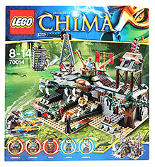 Lego Legends of Chima - The Croe Swamp Hideout