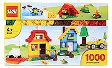 Lego Build And Play Box - 1000 Pieces