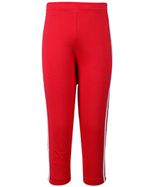 Taeko Track Pant Full Length - Red