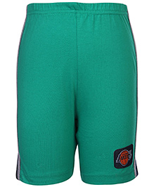 Taeko Shorts With Side Stripes - Lakers Patch