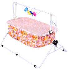 New Natraj Comfy Cradle Printed - Orange