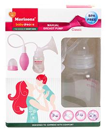 Morison Baby Dreams Manual Breast Pump Classic - Green