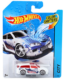 Hotwheels Color Shifters Audacious City - White