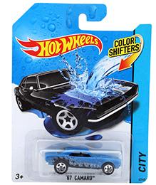 Hotwheels Color Shifters 67 Camaro City - Blue