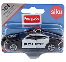 Siku US Police Patrol Car - Black