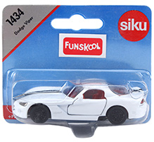 Siku Dodge Viper Sports Car - White