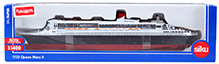 Siku Queen Mary II Ship - White and Black