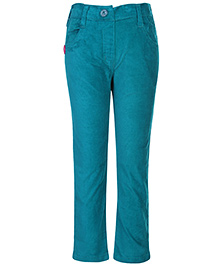 Little Kangaroos Corduroy Trouser - Aqua Blue