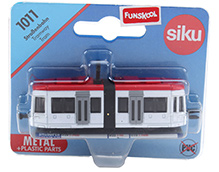 Siku Strassenbahn Tramway Tram - White And Red
