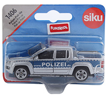 Siku Police Pick Up - Silver