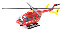 Siku Country Air Ambulance Helicopter - Red