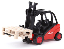 Siku Forklift Truck - Red And Black