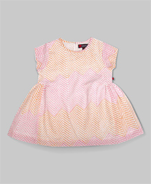 MistyRose Pink Gathered Dress