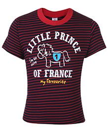 Zero T-Shirt Half Sleeves - Little Prince Print