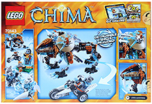 Lego Legends of Chima - Sir Fangar's Saber-tooth Walker