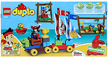 Lego Duplo Beach Racing Playset