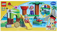 Lego Duplo - Never Land Hideout Playset