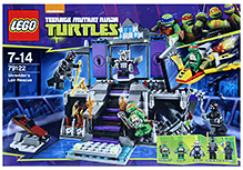 Lego Turtles - Shredder' Lair Rescue Playset