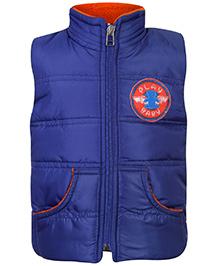Little Kangaroos Sleeveless Quilted Jacket - Blue