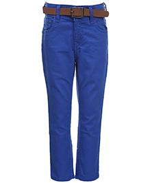 Gini And Jony Denim Jeans With Belt - Blue