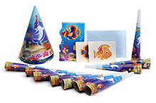 Themez Only Underwater Party Favors - Combo Pack