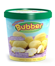Waba Fun Bubber Bucket Yellow - 7 OZ / 1Lit