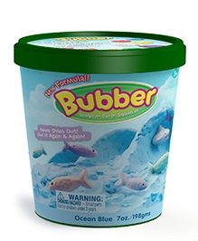Waba Fun Bubber Bucket Blue - 7 OZ / 1Lit