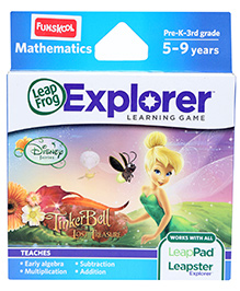 Leap Frog Disney Fairies Tinkerbell Learning Game
