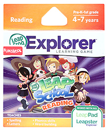 Leap Frog Explorer Learning Game - Leap School Reading